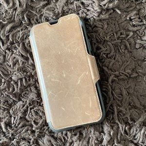 Otterbox Leather wallet case for iPhone X